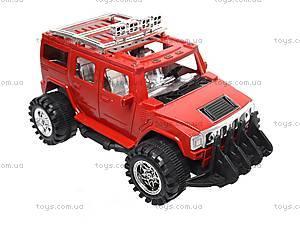 Машинка игрушечная инерционная «Джип», 6268-09B, фото