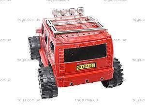 Машинка игрушечная инерционная «Джип», 6268-09B, игрушки