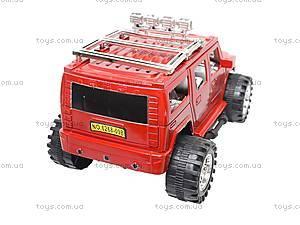 Машинка игрушечная инерционная «Джип», 6268-09B, детские игрушки