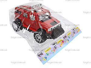 Машинка игрушечная инерционная «Джип», 6268-09B