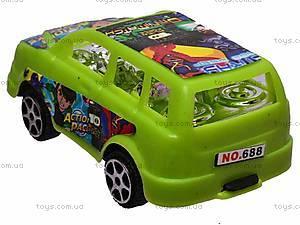 Машинка инерционная Ben 10, 688-2, игрушки