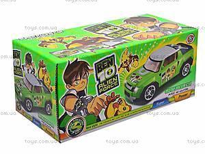 Машинка инерционная Ben 10, детская, 9052, купить