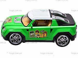 Машинка инерционная Ben 10, детская, 9052, отзывы