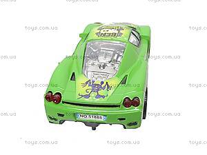 Машинка инерционная «Бен10», 51888, купить