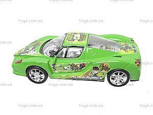 Машинка инерционная «Бен10», 51888, детские игрушки