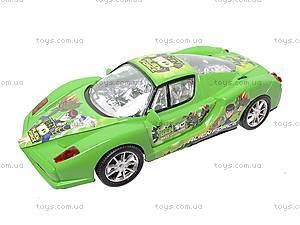 Машинка инерционная «Бен10», 51888, магазин игрушек