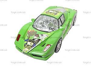 Машинка инерционная «Бен10», 51888, toys.com.ua