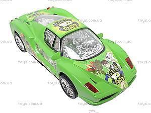 Машинка инерционная «Бен10», 51888, toys