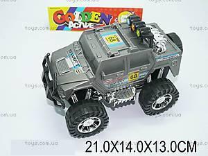 Машинка инерционная «Джип», игрушечная, A005