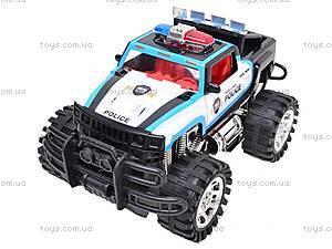 Машинка инерционная «Джип полицейский», 6137FF