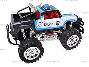 Машинка инерционная «Джип полицейский», 6137FF, купить