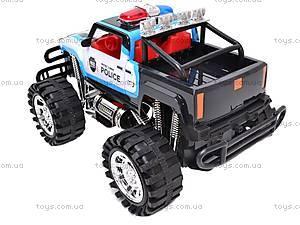 Машинка инерционная «Джип полицейский», 6137FF, фото