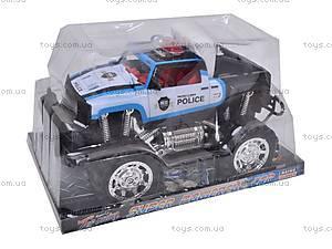 Машинка инерционная «Джип полицейский», 6137FF, отзывы