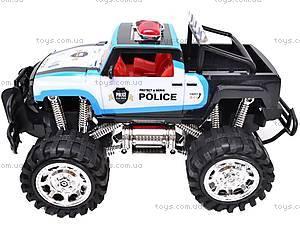 Машинка инерционная «Джип полицейский», 6137FF, цена