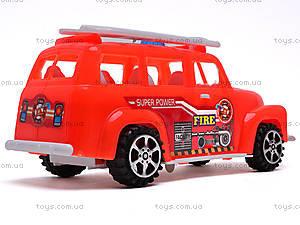 Машинка инерционная «Пожарка», 389-C12, фото