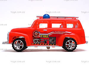Машинка инерционная «Пожарка», 389-C12, цена