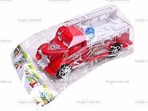 Машинка инерционная «Пожарная», 389-C11, купить