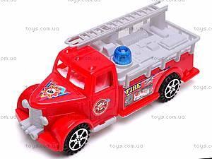 Машинка инерционная «Пожарная», 389-C11