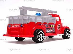 Машинка инерционная «Пожарная», 389-C11, отзывы