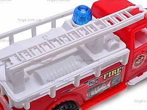Машинка инерционная «Пожарная», 389-C11, цена
