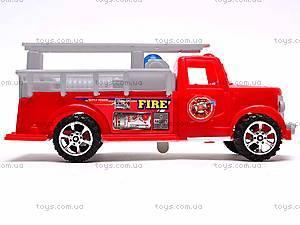 Машинка инерционная «Пожарная», 389-C11, игрушки