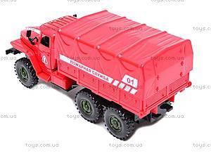 Машинка инерционная «Пожарная служба», 9494-A, фото