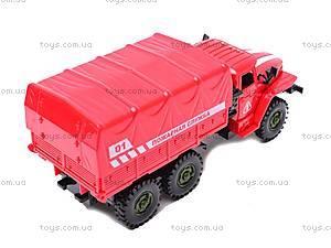 Машинка инерционная «Пожарная служба», 9494-A, отзывы