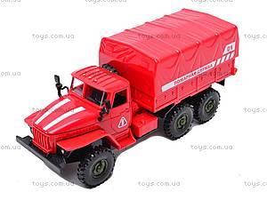 Машинка инерционная «Пожарная служба», 9494-A