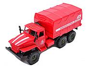 Машинка инерционная «Пожарная служба», 9494-A, купить