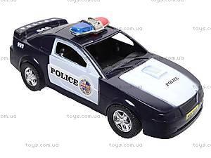 Машинка инерционная «Полицейская», 999-048C, купить