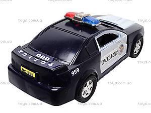 Машинка инерционная «Полицейская», 999-048C, фото