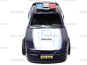 Машинка инерционная «Полицейская», 999-048C, отзывы