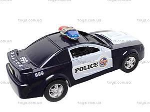 Машинка инерционная «Полицейская», 999-048C, игрушки