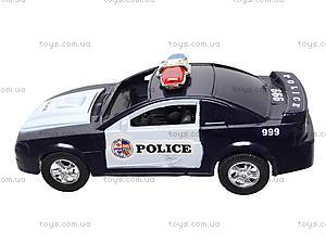 Машинка инерционная «Полицейская», 999-048C, детские игрушки