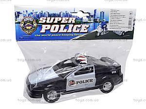 Машинка инерционная «Полицейская», 999-048C