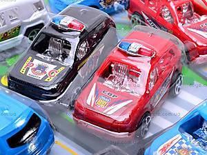 Машинка инерционная «Полиция», 329B, фото
