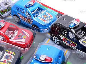 Машинка инерционная «Полиция», 329B, игрушки