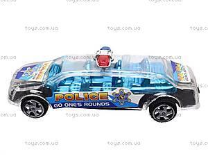 Машинка инерционная «Полиция», 4 вида, 1398, отзывы