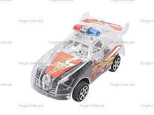 Машинка инерционная «Полиция», 6 видов, 902D-3, купить