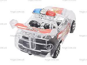 Машинка инерционная «Полиция», 6 видов, 902D-3, фото