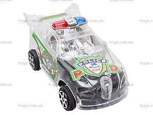 Машинка инерционная «Полиция», в шести видах, 902B, купить