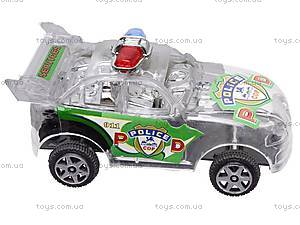 Машинка инерционная «Полиция», в шести видах, 902B, фото
