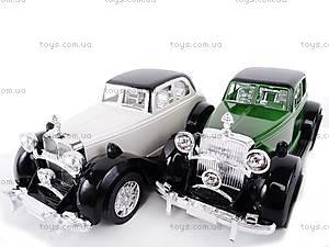 Машинка инерционная «Ретро», 6330, іграшки