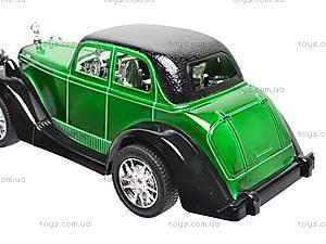 Машинка инерционная «Ретро», 6330, игрушки