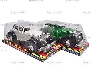 Машинка инерционная «Ретро», 6330, детские игрушки