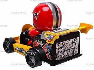 Машинка инерционная с водителем, 291B, фото