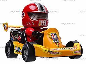 Машинка инерционная с водителем, 291B, игрушки