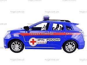 Машинка инерционная «Скорая», 566B3, магазин игрушек