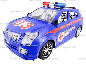 Машинка инерционная «Скорая», 566B3, toys.com.ua