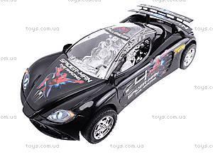Машинка инерционная «Спайдермен», 3138F, фото